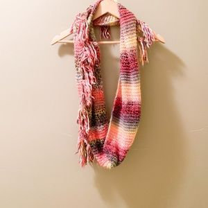 Maurices Colorful Sunset Knit Infinity Scarf-OS